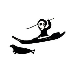 ELEESHUSHE PARR 1896-1975 - Kayak Hunter