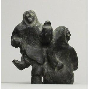BASIL APTANIK  1952-         Two Figures  (K5323)