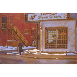 RAPHAËL MONTPETIT1980 - Presti Fleurs (rue Beaubien)