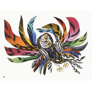 32 - OOLOOSIE SAILA 1991 - Festive Owl