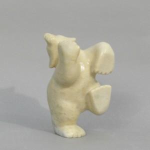 OTTOKIE SAMAYUALIE  1980-         Dancing Bear  (V17645)  SOLD