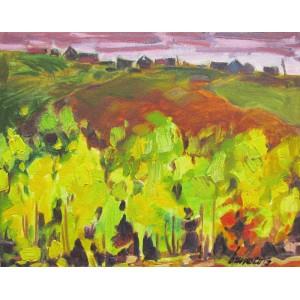 BRUNO CÔTÉ 1940-2010 - Yellow Trees