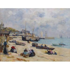 FERNAND LEGOUT-GÉRARD 1856-1924 - Dinard, c. 1900